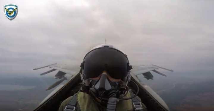 Πολεμική Αεροπορία - Σάρισα 2016 - Οι βολές ακριβείας των μαχητικών μας